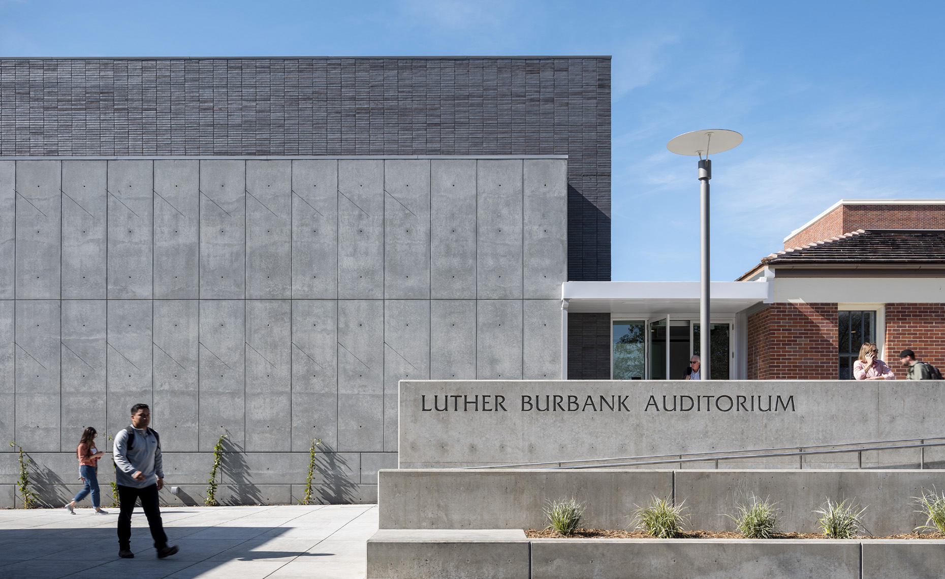 BURBANK AUDITORIUM, SANTA ROSA JUNIOR COLLEGE
